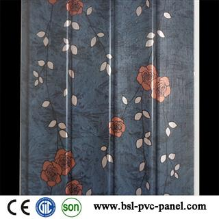 25cm 7.5mm 2.7kg 4 waves pvc wall panel professional manufacturer