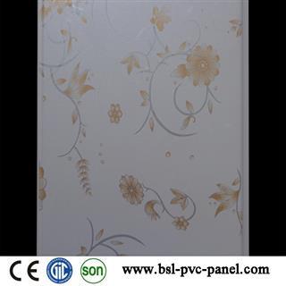 New design 25cm plain pvc wall panel for Pakistan