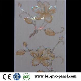 25cm hot stamping pvc ceiling panel from professional manufacturer