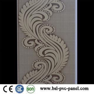 New design 25cm V groove pvc wall panel for Pakistan