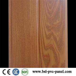 20cm 7mm middle groove wood grain pvc wall panel