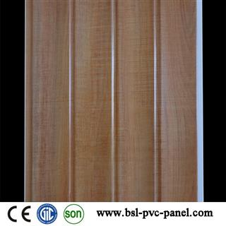 New color 25cm wave pvc wall panel for India