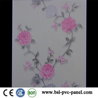 25cm hot stamping pvc wall panel for Pakistan