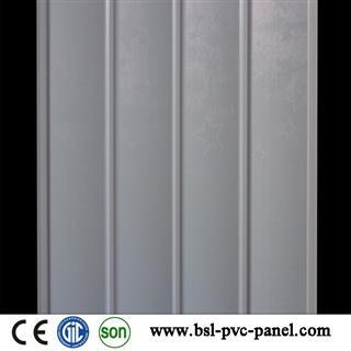 25cm wave white star pvc wall panel for Pakistan