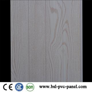 25cm light wood grain pvc wall panel for Pakistan