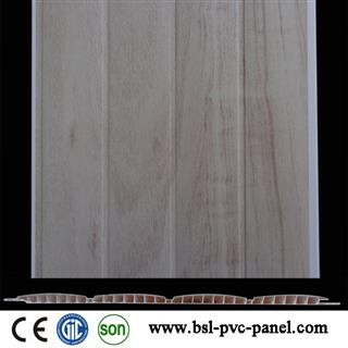 New 25cm 8mm 4 convex pvc wall panel for India