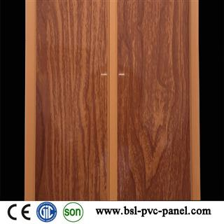 20cm middle groove wood grain pvc panel for Costa Rica