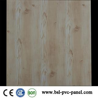 595*595MM Wood color pvc ceiling tiles for Iraq market